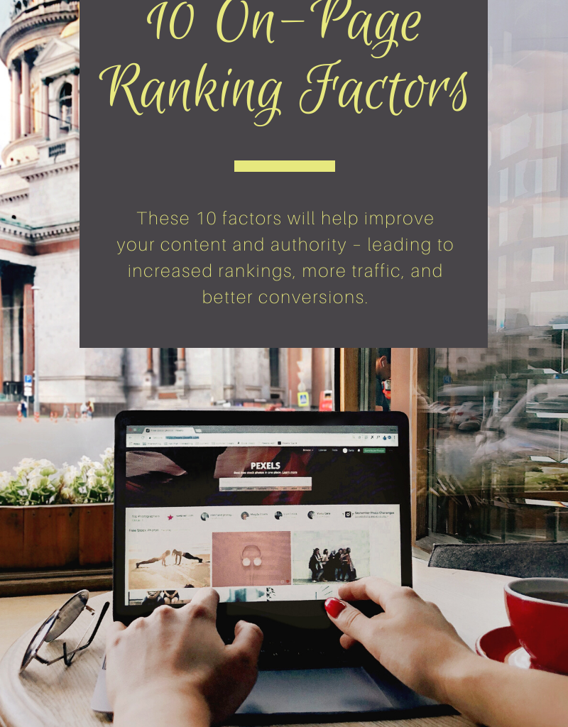 10 on-page ranking factors