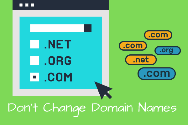 Does Changing Domain Name Affect SEO